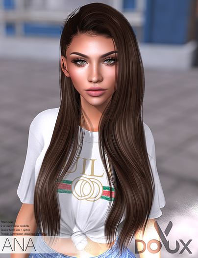 DOUX - Ana hairstyle [DEMO]