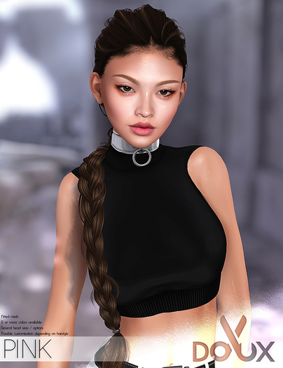 DOUX - Pink hairstyle [BLOGGER PACK]