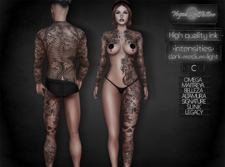 .: Vegas :. Tattoo Applier Japanese