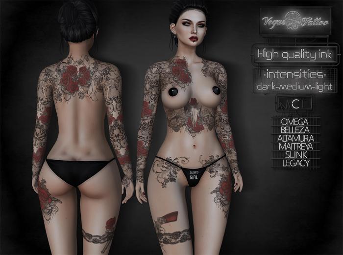 .: Vegas :. Tattoo Applier Gothic Poem