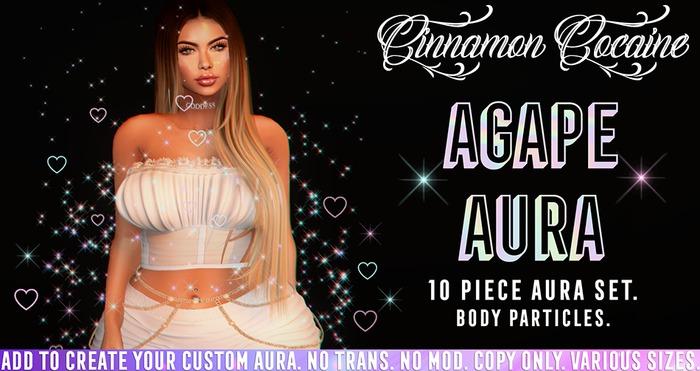 [Cinnamon Cocaine] Agape Aura (add & touch)