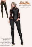 DriBbble *** Steampunk Pants and Boots Brown