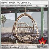 Trompe Loeil - Ndari Hanging Chair PG [mesh]