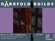 Alteran Air Filter/Bubble Tank