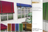 Sway's [Evan] Roll Up Window Blinds . Colorful