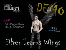 [DeepElements] DEMO : Silver Icarus Wings