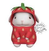 +Half-Deer+ Lazypuff Bunny - Strawberry Sweetheart