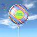 Balloon - Happy Birthday Swirly