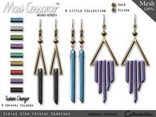 Earrings - Sirius Star Crystal - V2