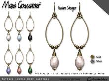 Earrings - Antique London Drops