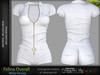 FELINA Female WHITE SINGLE COLOR OVERALL - MESH - Maitreya Lara, Belleza Freya