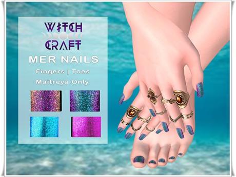 {WitchCraft} Mer Nails - Nail Polish