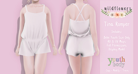 {WF} Template - Tina Romper Youth