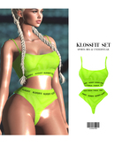 LIFESTYLE. Two-Piece Set [NEON] ::Kloss::