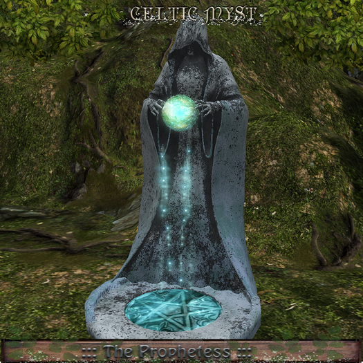 Fantasy Forest Collection: ☽☆☾ The Prophetess:: - Mystic Statue