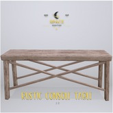 Space Oddities - Rustic Console Table