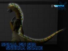 Snokra Snake - Spinal Fin