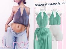 Lunar - Nami Dress & Top - Spectra Green