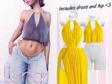 Lunar - Nami Dress & Top - Sunflower