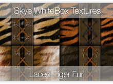 Laced Tiger Fur  - 91 Skye WhiteBox Full Perms Seamless Textures