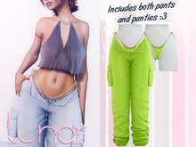 Lunar - Nami Pants & Panties - Hills Green (Boxed)