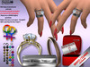 [SuXue Mesh] FATPACK Achille For Bento & Classic Hands Unrigged Rings promise engagement wedding Hud Resize 2 Lesbians