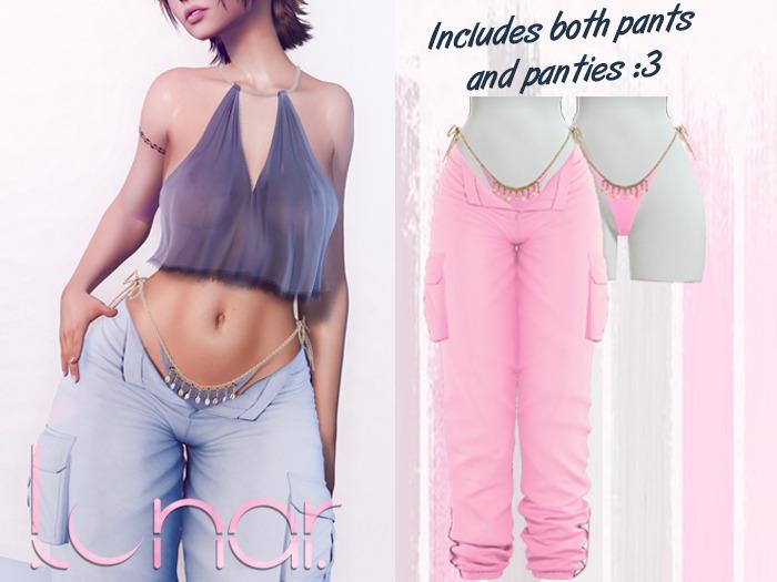 Lunar - Nami Pants & Panties - Bubblegum Pink