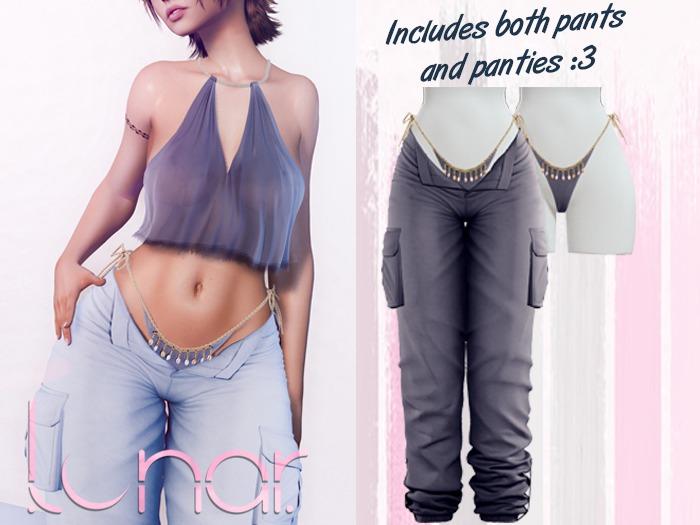 Lunar - Nami Pants & Panties - Midnight