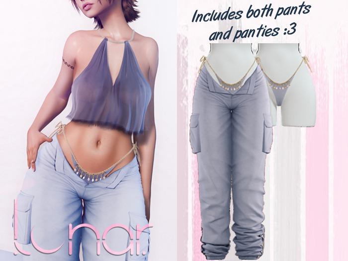 Lunar - Nami Pants & Panties - Mirage Blue