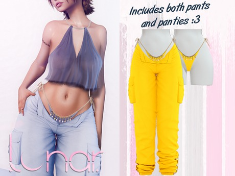 Lunar - Nami Pants & Panties - Sunflower