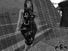 [Strange One.] Metallic Occult Dress - DEMO