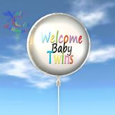 Balloon - Welcome Baby Twins
