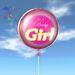 Balloon - It's A Baby Girl - Transfer - Xntra City Balloons