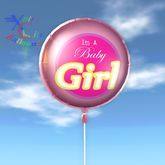 Balloon - It's A Baby Girl