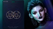 + 1692 + Messe Noire - Pentagram Hoops
