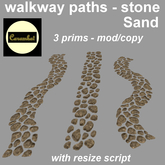 walkway paths - stone sand (mod/copy)