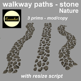 walkway paths - stone nature (mod/copy)