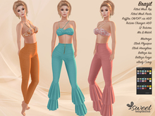 ST :: Brazil Outfit - Maitreya, Slink (Physique, Hourglass), Belleza (Isis, Freya) - 12 Textures