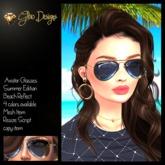 .:Glow Designs:. Aviator Glasses Summer