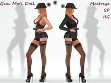 ~PP~  Gun Moll Doll Costume