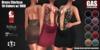 GAS [Dress Clarissa - 10 Colors w/HUD FATPACK]