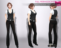 MAITREYA FULL PERM FITMESH Working Woman Character Outfit