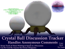 Crystal Ball Discussion Tracker w/ Anonymous