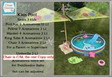 *CC* (TD/Bebe) Kids Pool