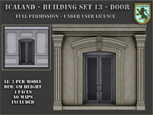 Icaland - Building Set 13 - Door