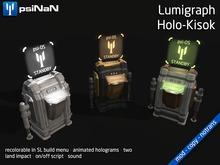[psiNaN] Lumigraph Holo-Kiosk