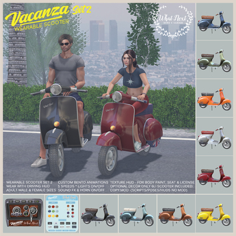 {what next} Vacanza Wearable Scooter - Set 2
