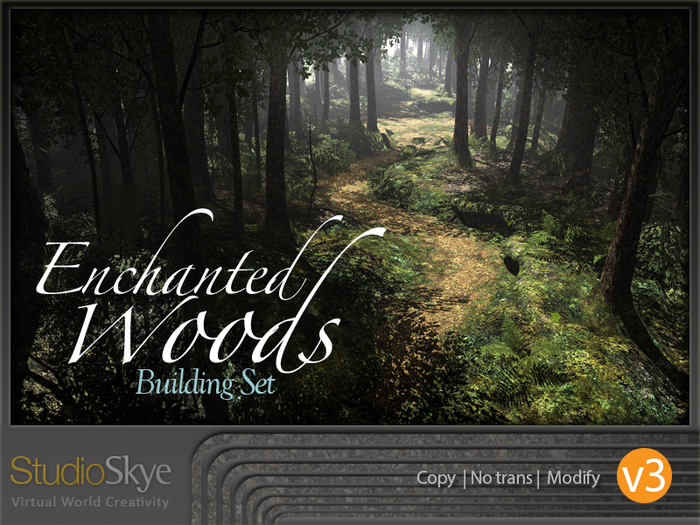 NEW! V3 Enchanted Woods - Four Season Trees