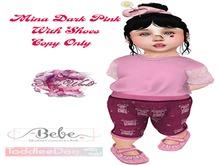 (SW) Mina Dark Pink TDB/BEBE