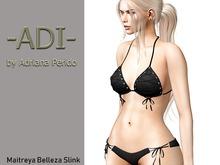 Weekend Promo 99L!-ADI-Ida bikini Black Maitreya Belleza Slink